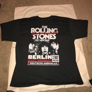 Rolling Stones Tour of Europe 1978 Reprint shirt!